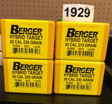 Reloading Supplies - 30 cal bullets