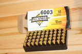 Ammo 10mm FMJ, 50 qty Box