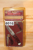Winchester Limited Edition 3 pc. Wood Handel Knife Set in Gift Tin