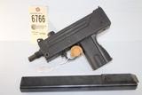 Ingram Mac 10, .9mm pistol
