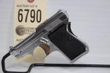 Beretta, Gardone V.T., 6.35 cal., pistol