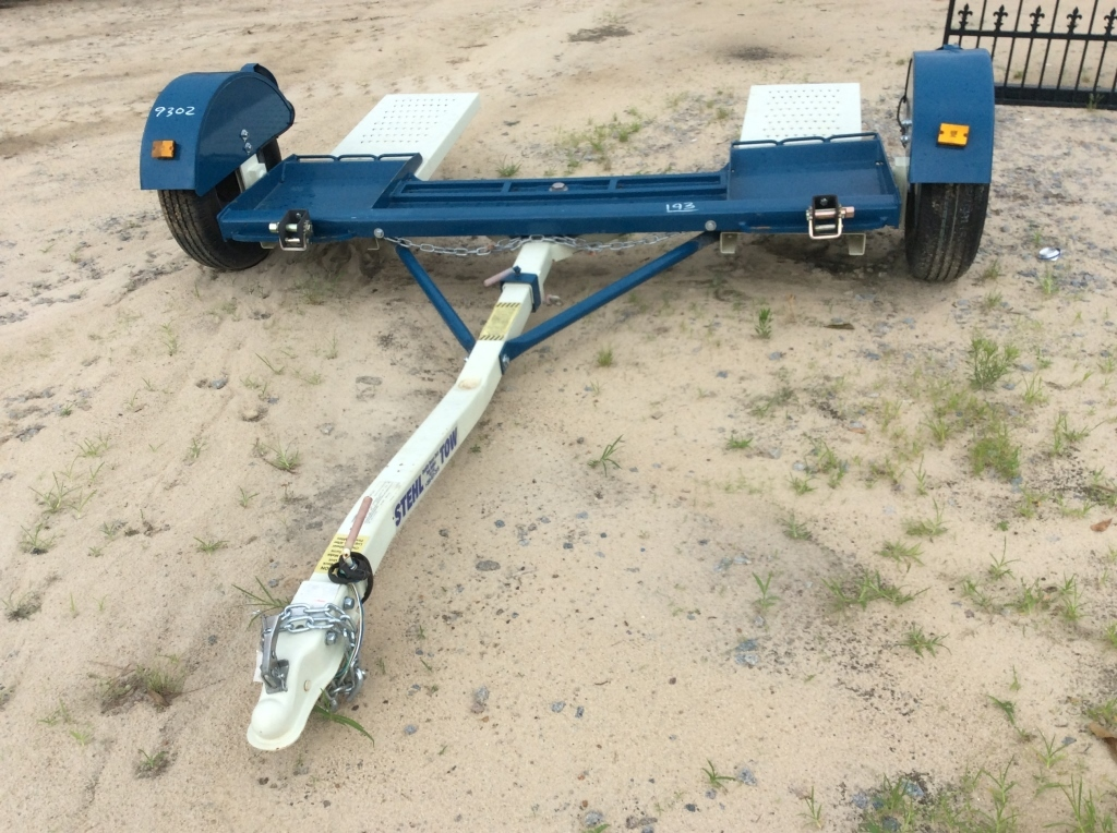 2017 STEHL 10' CAR HAULER DOLLY/TRAILER