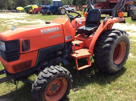 (13)KUBOTA L3400 4WD