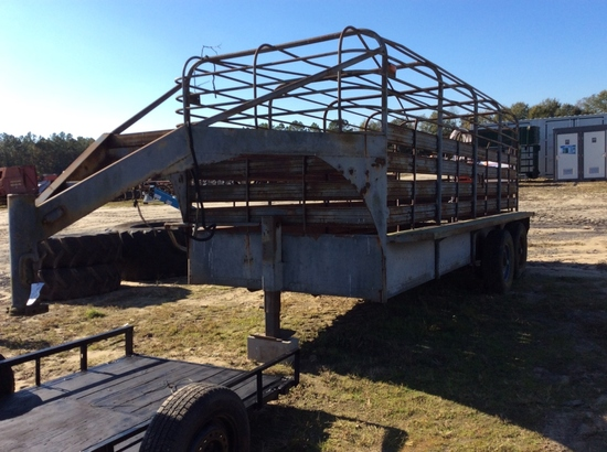 16' T.A. CATTLE TRAILER - NT