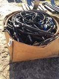 (237)PALLET BOX OF HOSES