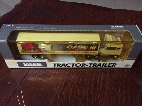 1/64 CASE TRACTOR TRAILER