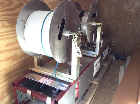 SEAMLESS GUTTER MACHINE W/ GUTTER MATERIALS