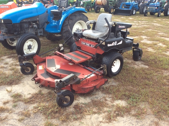 (11)BUSH HOG 22-W ZERO TURN MOWER