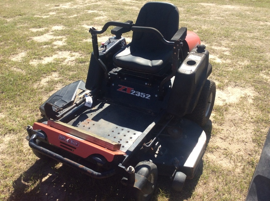 (16)GRAVELY ZT2352 MOWER