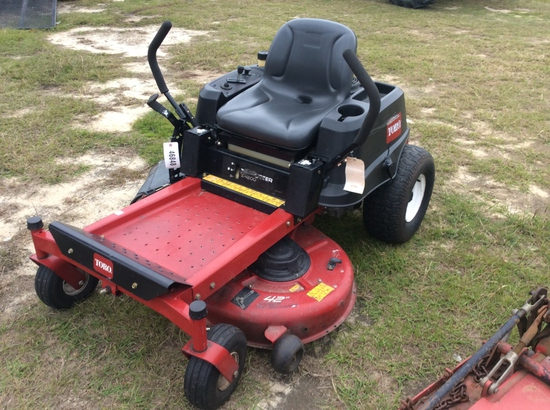 (18)TORO Z4200 ZERO TURN MOWER