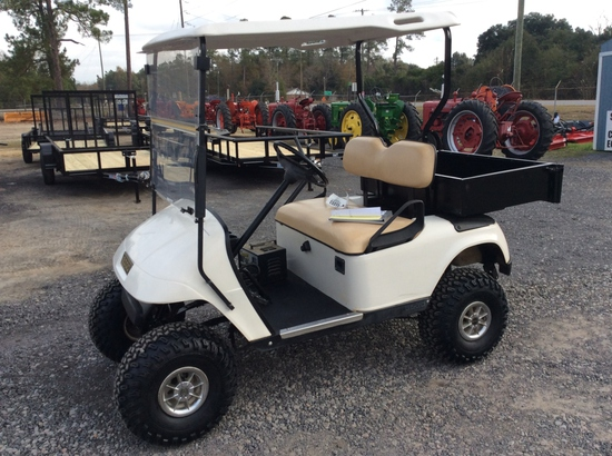 (8)1998 EZ GO ELECTRIC GOLF CART