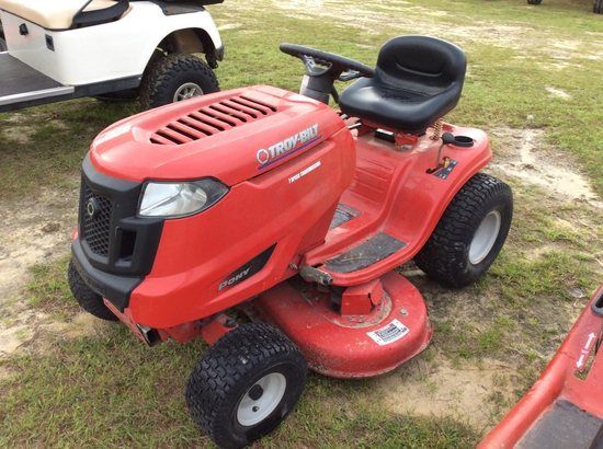 (9)TROYBUILT PONY RIDING MOWER