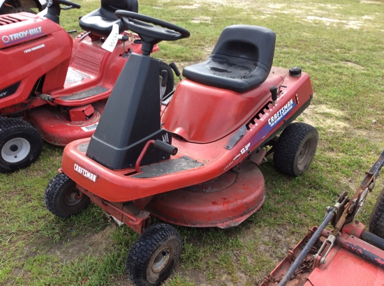 (10)CRAFTSMAN RIDING MOWER