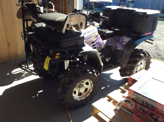 (19)2004 POLARIS SPORTSMAN 4-WHEELER