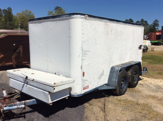 6 X 12 T.A. ENCLOSED TRAILER - NT