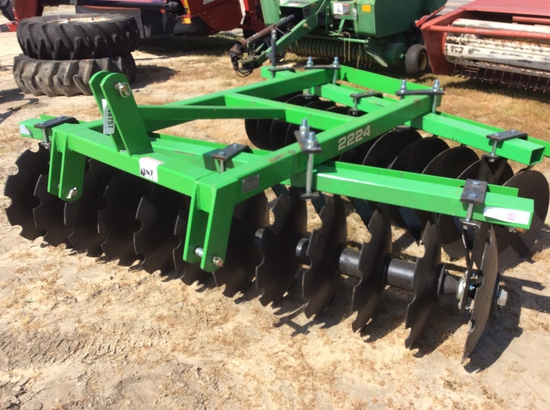8' 3PT OFF-SET DISC HARROW - 2224
