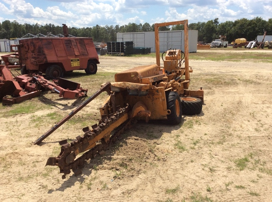 CASE TRENCHER PARTS