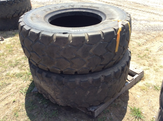 (111)ABSOLUTE - (2)17.5R25 TIRES