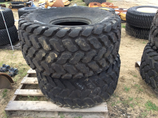 (105)ABSOLUTE - (2)21.5L-16.1 TIRES