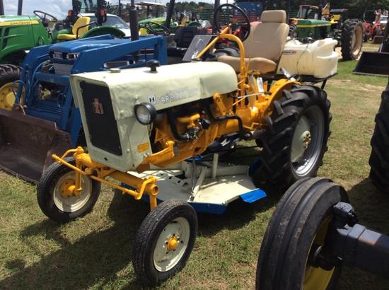 (24)MCCORMICK FARMALL CUB W/ SPRAYER & CUTTER