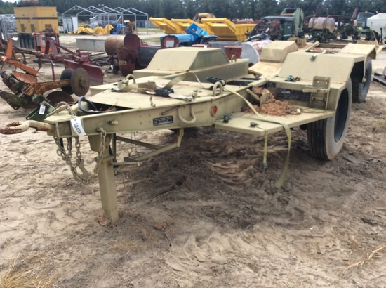 (222)ARMY GENERATOR TRAILER - 2 1/2 TON - NO TITLE