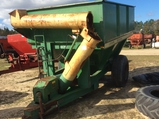 (187)JD 1210A GRAIN CART W/ HYD. AUGER - PULL TYPE