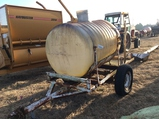 500GAL. TANK ON S.A. TRAILER