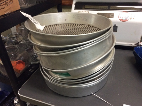 LOT OF SIFTER TRAYS