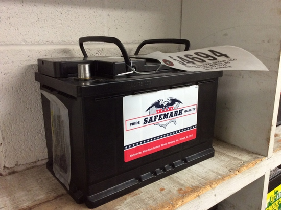 SAFEMARK 12VOLT BATTERY - 6-48