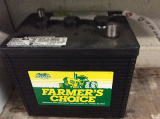 FARMERS CHOICE FC-1C 6 VOLT BATTERY