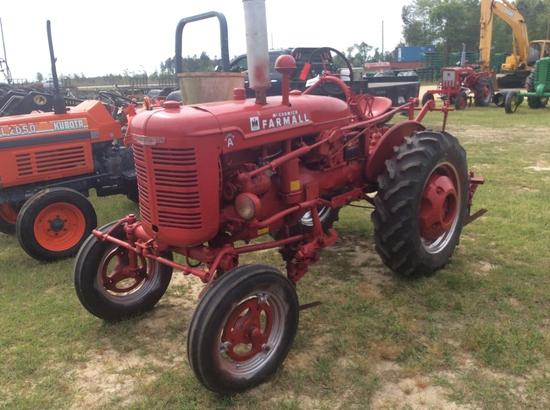 (6)FARMALL SUPER A W/ 2 ROW CULTIVATOR