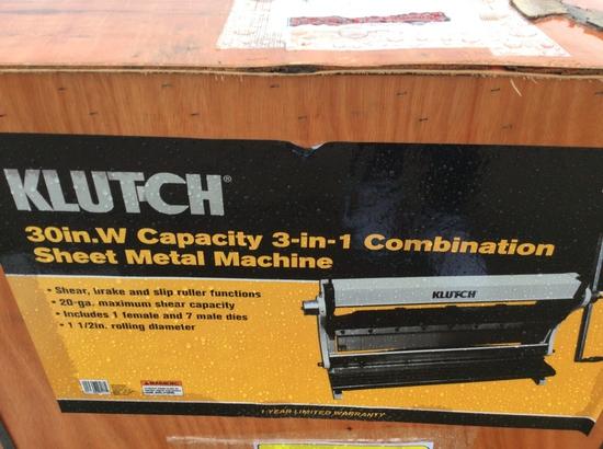 "(214)30"" CAP. 3IN1 COMBINATION SHEET METAL MACHINE"