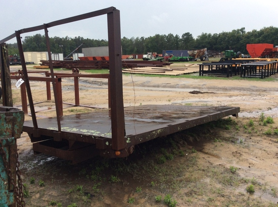 (206)7'10 X 12' TRUCK FLATBED