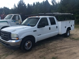 (81)2002 FORD F350 W/ WORK BED