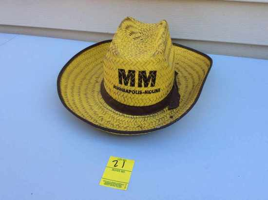 Yellow straw hat