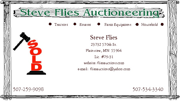 Steve Flies Auctioneering