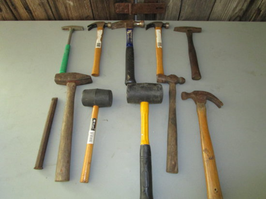 Large Lot of Misc. Hammers