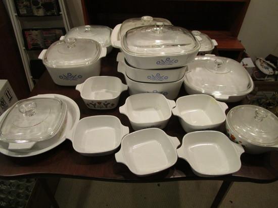 Large Lot of Corning Ware