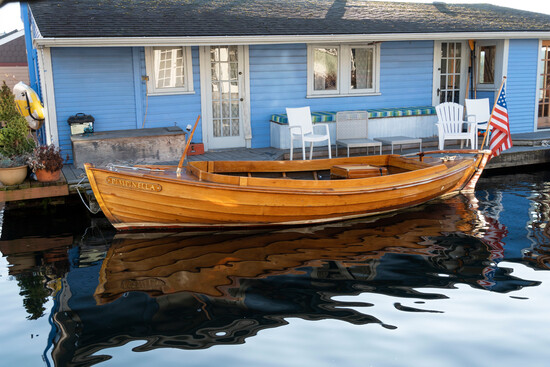 "1961 Larsson 19' Handmade Canal Boat ""Pimpinella"" NO RESERVE"