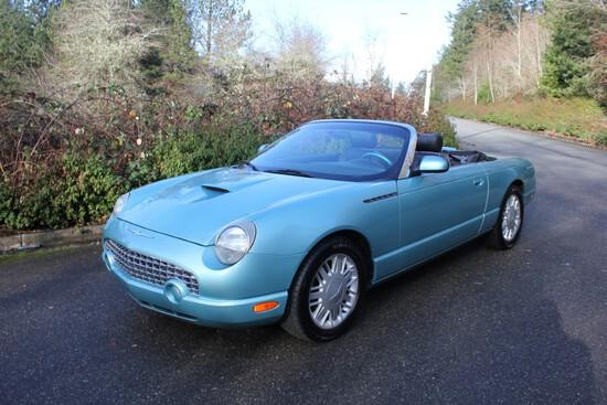 2002 Ford Thunderbird Convertible