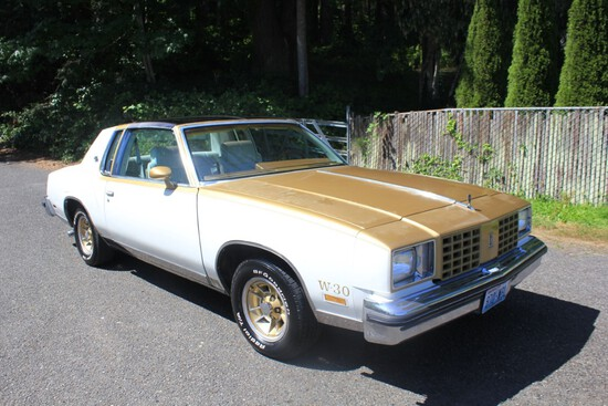 1979 Oldsmobile Cutlass Hurst
