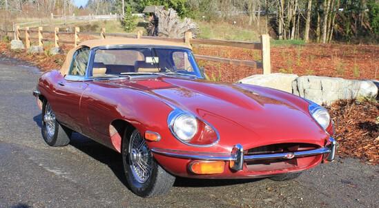 1970 Jaguar E-Type Roadster