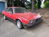 1985 Maserati Bi-Turbo NO RESERVE