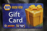 Napa $500.00 Gift CertificateNO RESERVE