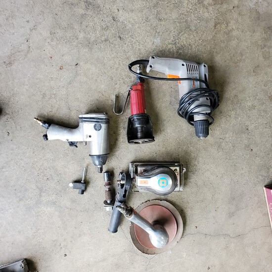 Electrical Sander-Hand Sander-Hydraulic Air Tools, Air Gun, Sander and Grinder.NO RESERVE