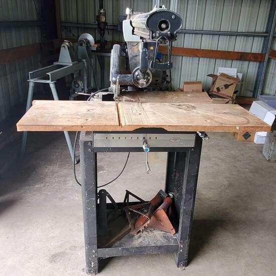 Craftsman Radial Arm SawNO RESERVE
