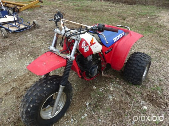 1985 HONDA 200X ATC THREE WHEELER;