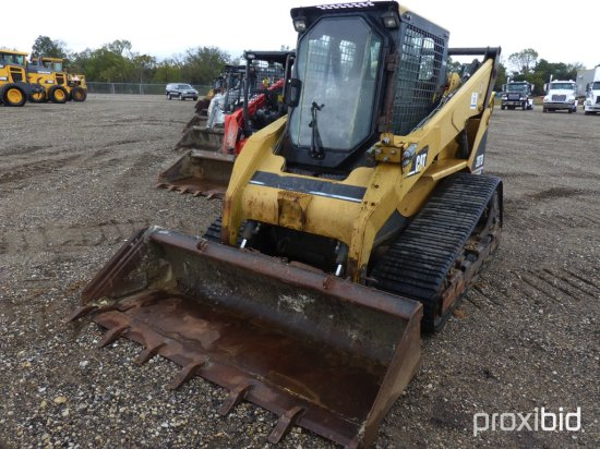2005 CATERPILLAR 287B SKID STEER;