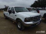 1999 FORD F250 CREW CAB PICKUP;