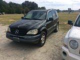1998 MERCEDES M CLASS SUV;